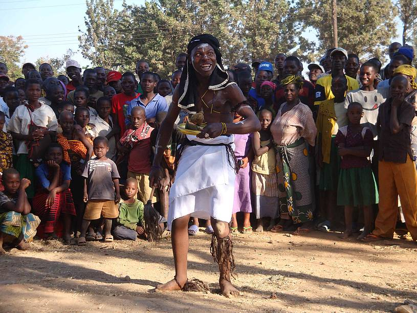 Community Theater against Albino murders in Mwanza