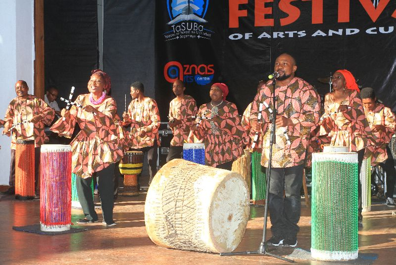 Performance of Bagamoyo Players at the Festival 2019
